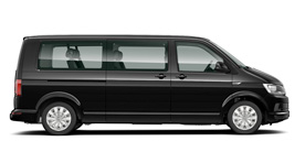 voiture Vw transporter 9 place